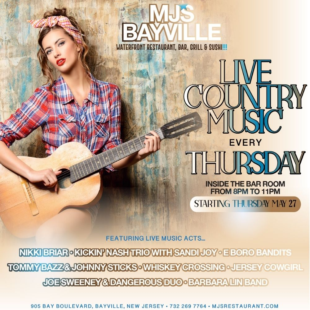 MJ's BAYVILLE LIVE COUNTRY MUSIC